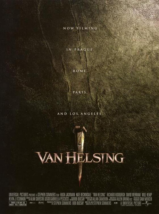 Un primo poster di Van Helsing