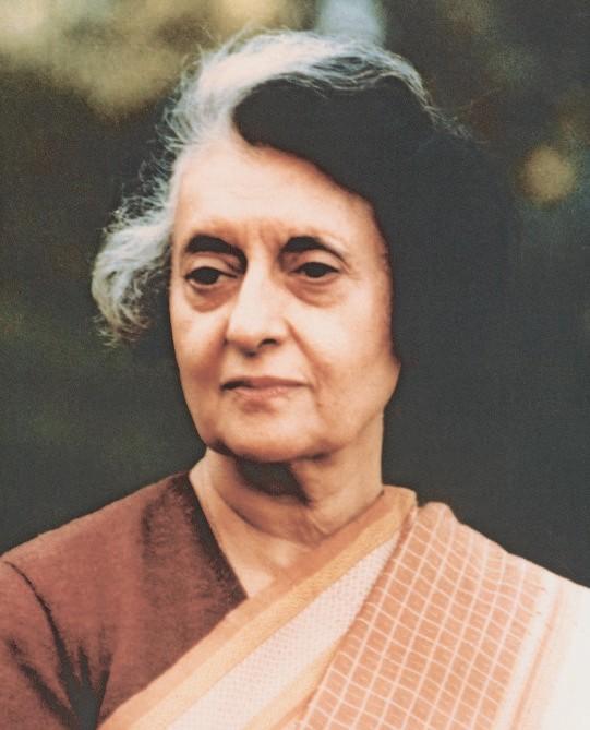 Una foto di Indira Gandhi