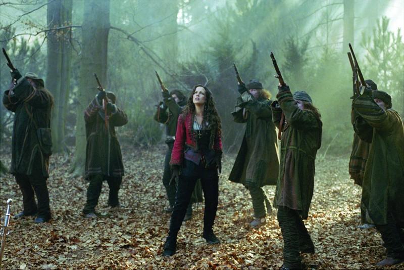 Una scena del film Van Helsing con Kate Beckinsale