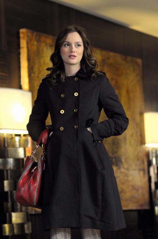 Una sequenza della puntata Treasure of Serena Madre di Gossip Girl con Leighton Meester