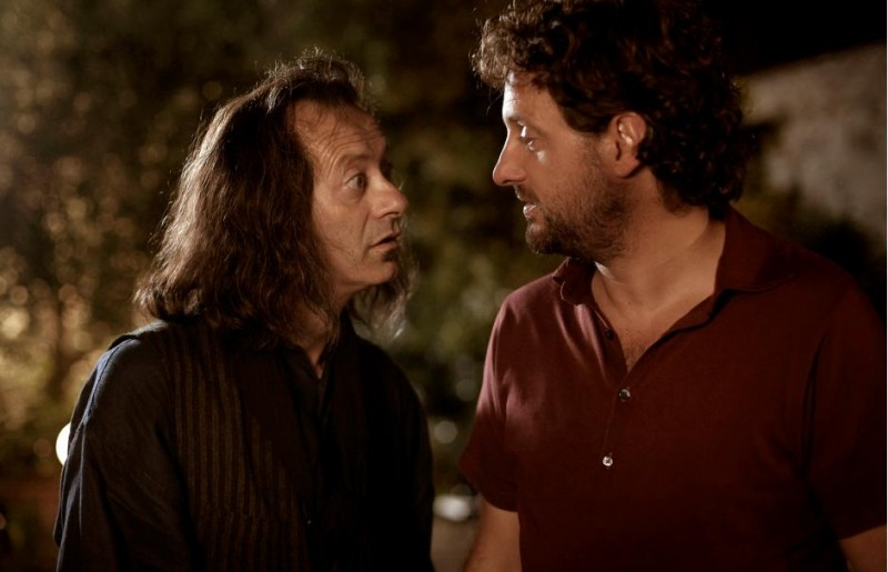 Leonardo Pieraccioni e Rocco Papaleo in una scena del film Io e Marilyn