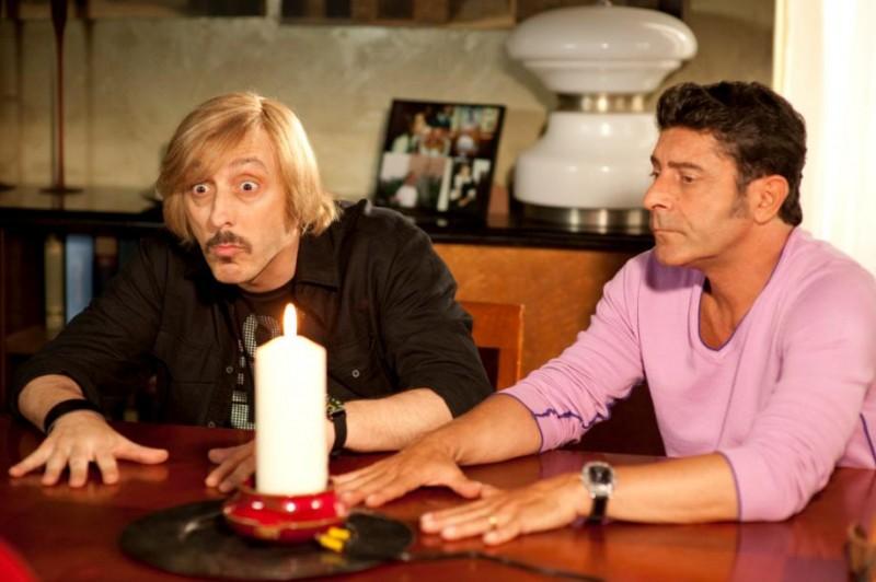 Massimo Ceccherini e Luca Laurenti in una scena del film Io e Marilyn