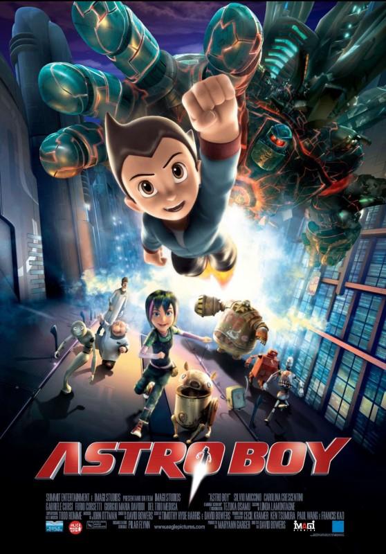 Nuova locandina italiana per Astro Boy