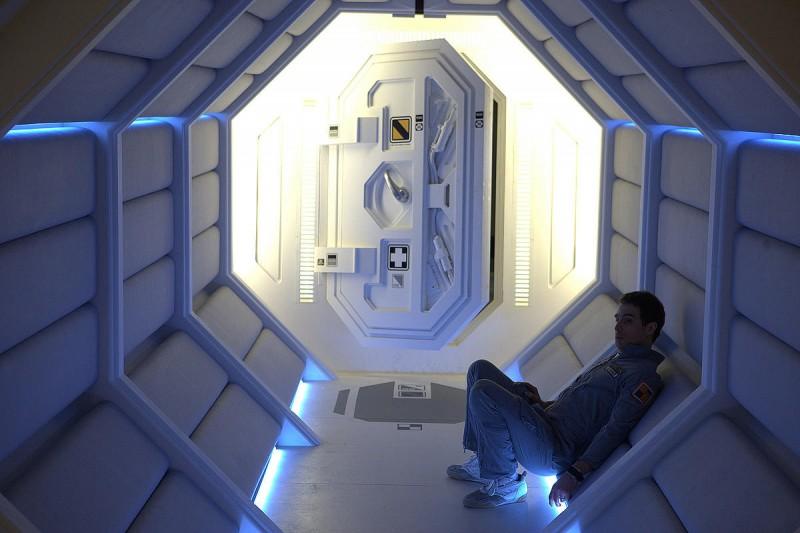 Sam Rockwell in un'immagine del film Moon