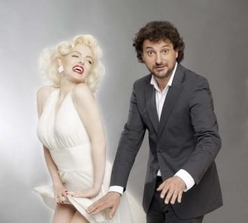 Suzie Kennedy e Leonardo Pieraccioni protagonisti del film Io e Marilyn