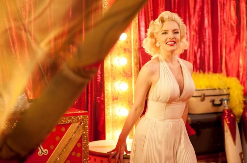 Suzie Kennedy in una scena del film Io e Marilyn