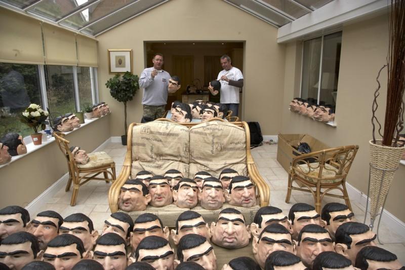 Una divertente foto scattata sul set de Il mio amico Eric