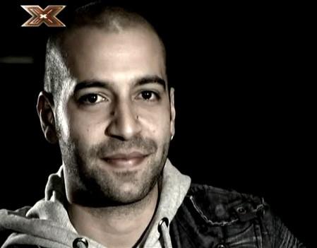 Una immagine di Giuliano Rassu, concorrente di X-Factor 3