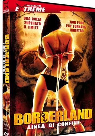 La copertina di Borderland (dvd)