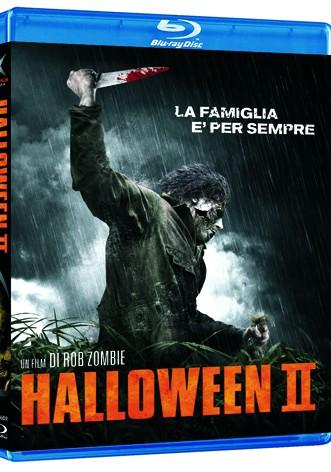 La copertina di Halloween II (blu-ray)