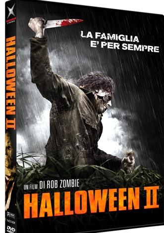 La copertina di Halloween II (dvd)