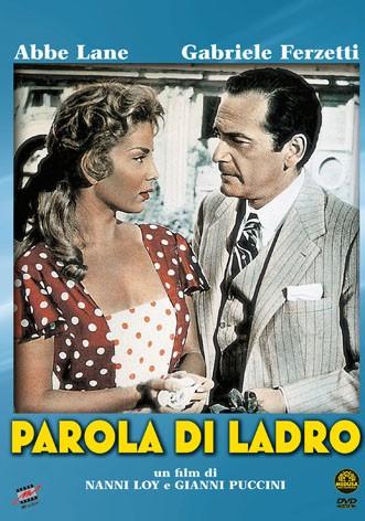 La copertina di Parola di ladro (dvd)