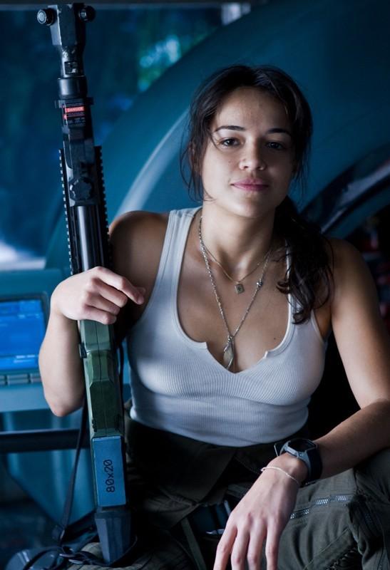 Michelle Rodriguez interpreta Trudy Chacon nel film Avatar