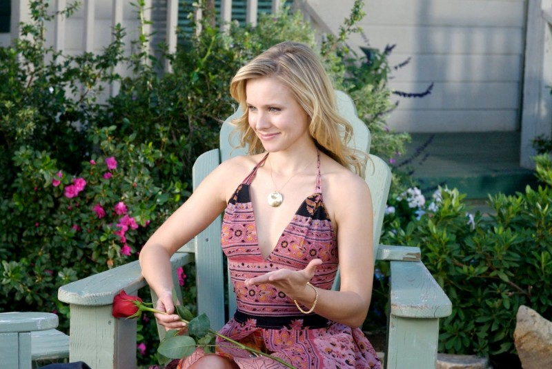 Kristen Bell in un'immagine di Serious Moonlight