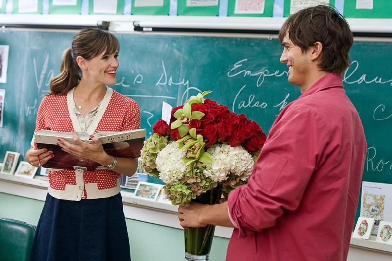 Jennifer Garner e Ashton Kutcher in una scena del film Valentine's Day