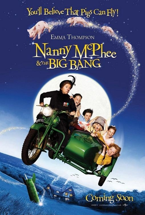 La locandina di Nanny McPhee and the Big Bang