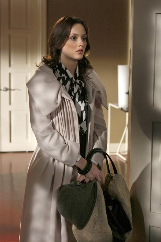 Una scena dell'episodio The Debarted di Gossip Girl con Leighton Meester
