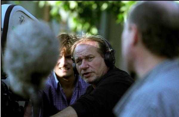 Il regista Philippe Lioret sul set del film Welcome