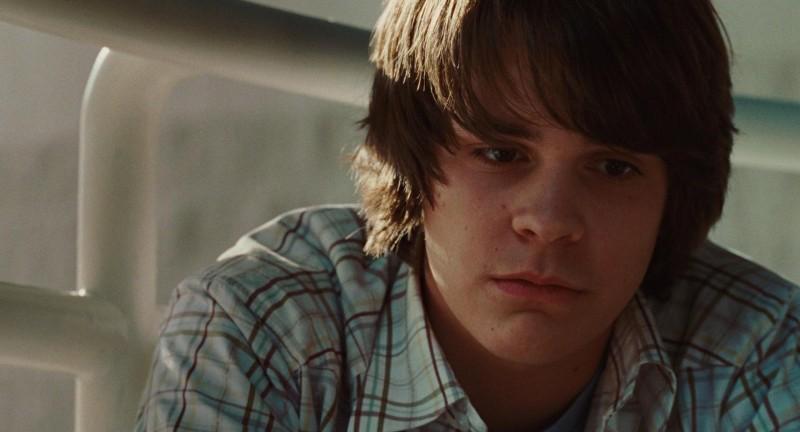 Johnny Simmons in una scena del film Jennifer's Body