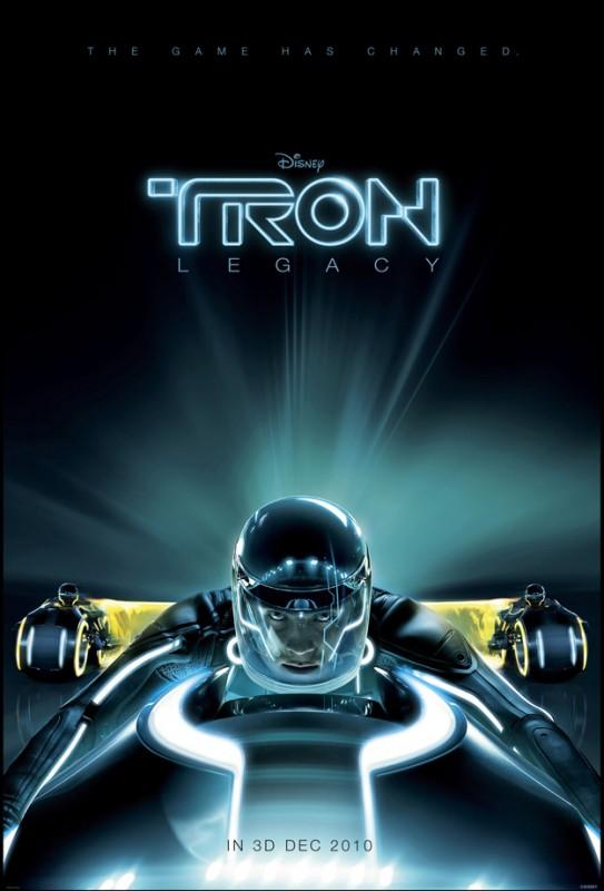 La locandina di Tron Legacy