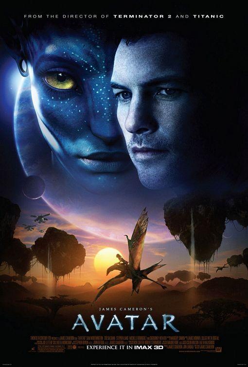 Poster USA per Avatar in versione IMAX