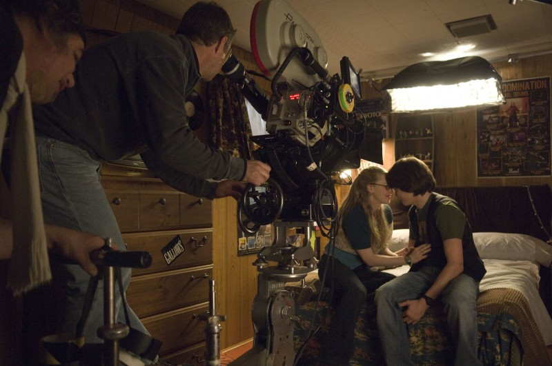 Amanda Seyfried sul set di Jennifer's Body