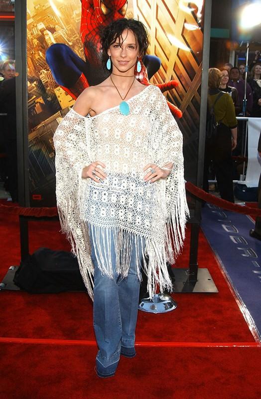 Jennifer Love Hewitt alla premiere del film Spider-Man nel 2002