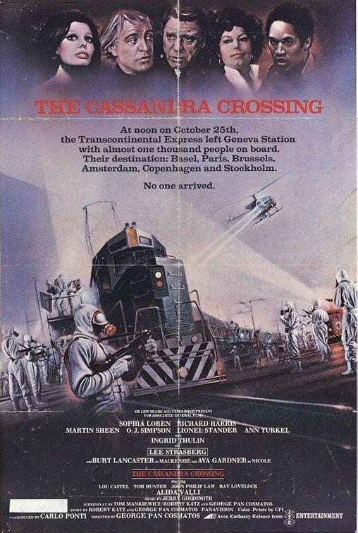 La locandina di Cassandra Crossing