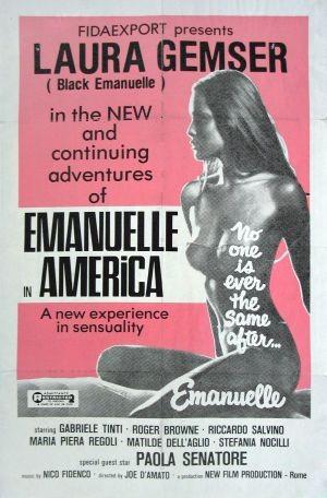 La locandina di Emanuelle in America