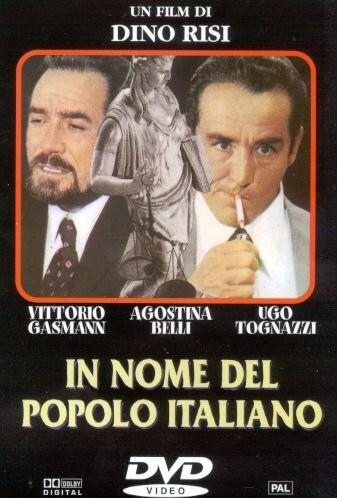 La locandina di In nome del popolo italiano