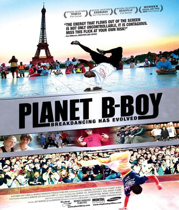 La locandina di Planet B-Boy
