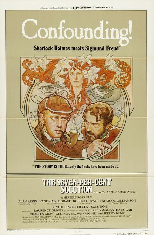 La locandina di Sherlock Holmes: soluzione settepercento