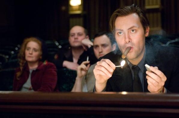 Christian McKay in una sequenza del film Me and Orson Welles