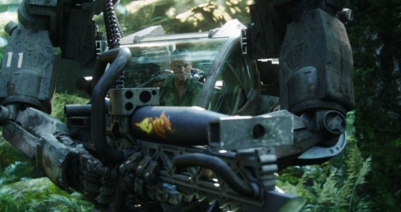 Un'immagine di Stephen Lang che interpreta il Colonnello Quaritch nel film Avatar