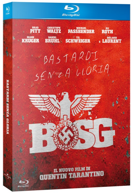La copertina di Bastardi senza gloria (blu-ray)