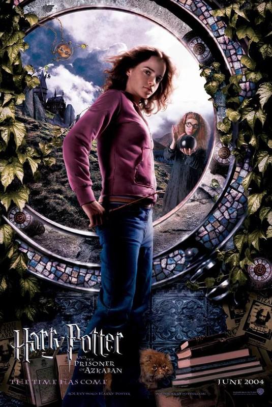 Un character poster di Hermione Granger (Emma Watson) per il film Harry Potter e il Prigioniero di Azkaban