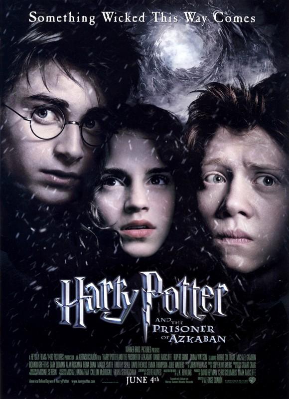 Un poster del film Harry Potter e il Prigioniero di Azkaban