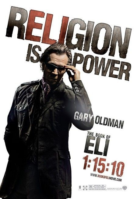 Character poster (Gary Oldman) per The Book of Eli
