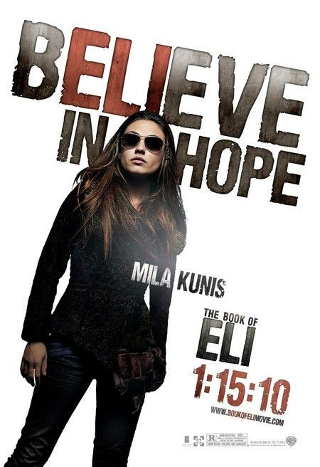 Character poster (Mila Kunis) per The Book of Eli