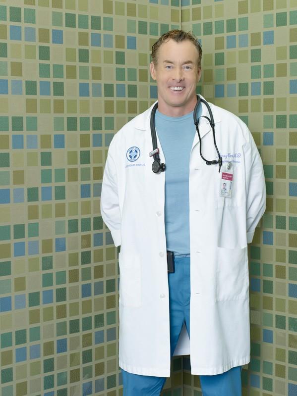 John C. McGinley in una foto promozionale della stagione 9 di Scrubs