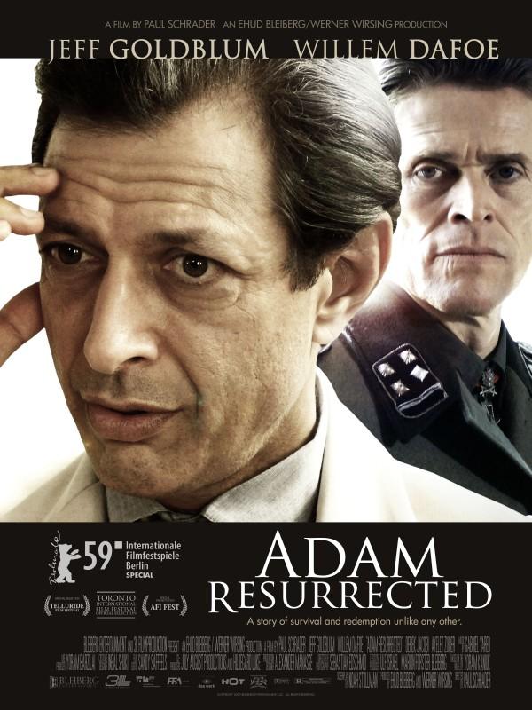 Nuovo poster USA del film Adam Resurrected