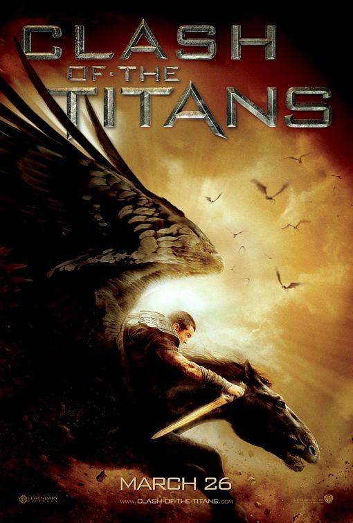 Poster USA per Clash of the Titans