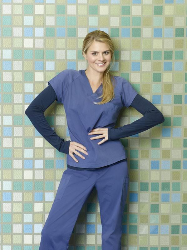Scrubs: Eliza Coupe è Denise in una foto promozionale della stagione 9