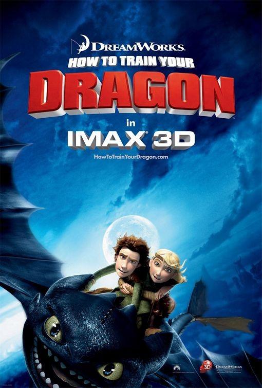 Secondo poster per How to Train Your Dragon