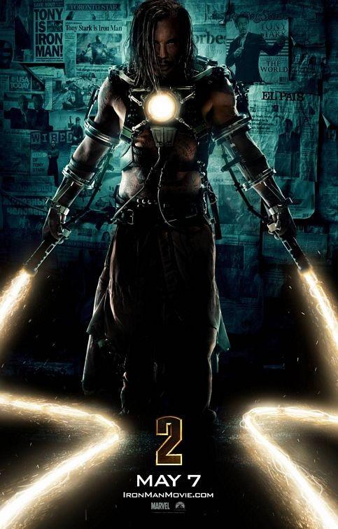 Terzo poster per Iron Man 2
