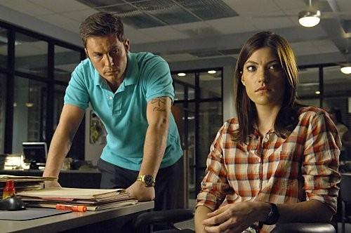 Dexter: Desmond Harrington e Jennifer Carpenter nell'episodio Hello, Dexter Morgan