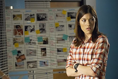Dexter: Jennifer Carpenter nell'episodio Hello, Dexter Morgan