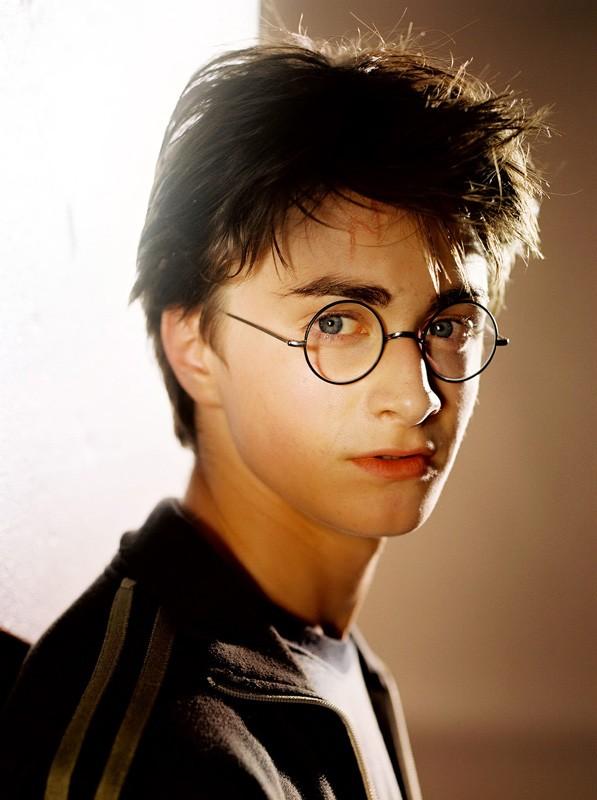 Harry (Daniel Radcliffe) in una foto promozionale di Harry Potter e il Prigioniero di Azkaban