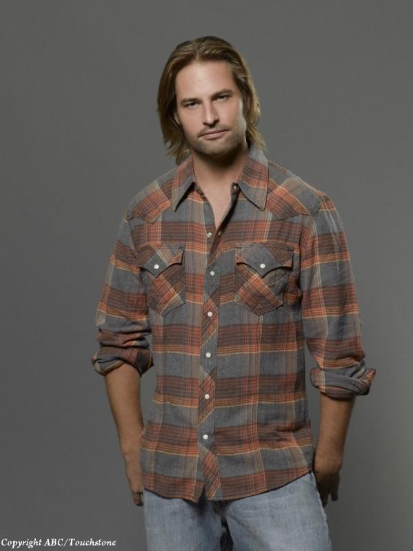 Josh Holloway in una immagine promozionale della stagione 6 di Lost