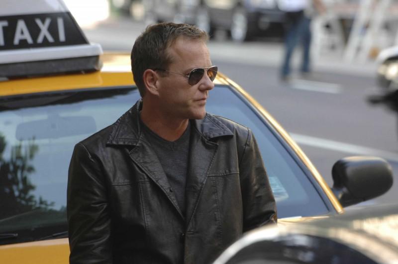 24: Kiefer Sutherland in una scena della stagione 8